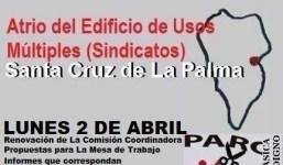 """Asamblea Plataforma Personas Desempleadas de La Palma """"Alpende"""""""