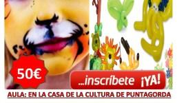 Taller Pintacaras y Globoflexia 12H