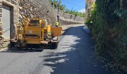 El Ayuntamiento realiza 4 obras de mejoras de acondicionamiento y asfaltados a petición vecinal.