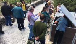 Arranca el proyecto de compostaje comunitario de El Velachero con la participación de una veintena de familias