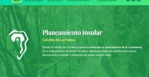 El Servicio de Planificación del Cabildo crea su propia web para difundir los planes que definen el desarrollo de la isla