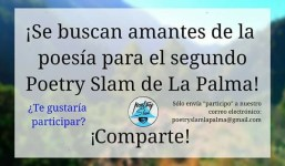 II Poetry Slam La Palma