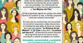 """Taller """"Las Mujeres del Clan"""""""