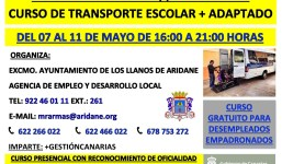 Curso de Prevención de Accidentes y Primeros Auxilios. Monitor de Transporte Escolar y Transporte Escolar Adaptado