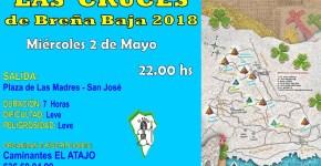 Ruta Nocturna de Las Cruces de Breña Baja