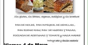 Curso de Panes sin Gluten, sin Levadura y ecológicos