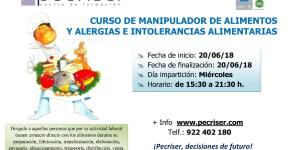 Manipulador de alimentos y alérgenos