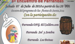 """La Polvacera celebra el tercer """"Encuentro de Parrandas"""""""