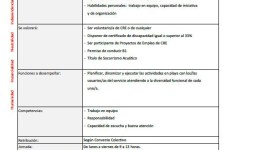 MONITORES/AS OCIO Y TIEMPO LIBRE