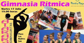 Atabara organiza una exhibición de Gimnasia Rítmica