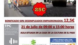 CURSO DE LA TPC 06H ESTABILIZACIÓN DE EXPLANADAS Y EXTENDIDO DE FIRMES