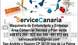 """""""ServiceCanaria"""" Ventas y postventas y servicio técnico en Canarias"""