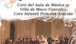 El Ayuntamiento organiza un concierto de verano con los coros del Aula de Música de Mazo y Tijarafe y del Princesa Arecida
