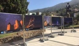 La exposición fotográfica Preserving the skies de la Fundación CajaCanarias se despide de Tijarafe