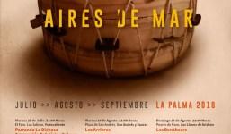 Coros y Danzas Nambroque y Echentive protagonizan este sábado una nueva entrega del ciclo 'Aires de Mar' en el Puerto de Tazacorte