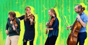 "North Sea String Quartet y Rebeca Mora presentan ""The Brazil String Connection"""