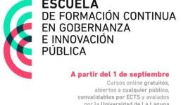 Cursos MOOC de la Escuela de Formación Continua en Gobernanza e Innovación Pública