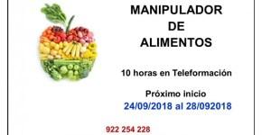CURSO MANIPULADOR DE ALIMENTOS GRATUITO