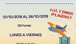 Ultimas plazas - Curso Gestión de Reuniones, Viajes y Eventos