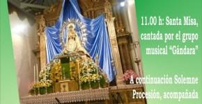 La Patrona, Ntra. Sra. del Rosario, se celebra en la antigua iglesia de San José