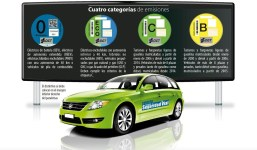Distintivos ambientales para vehículos