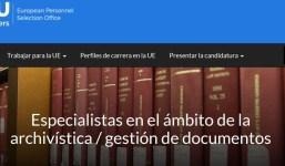 Administradores y Asistentes en el ámbito de la archivística y la gestión documental.