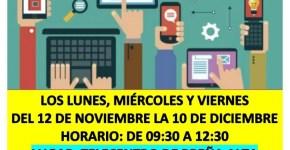 TALLER DE INFORMÁTICA Y N.T.I.C. PARA PERSONAS MAYORES