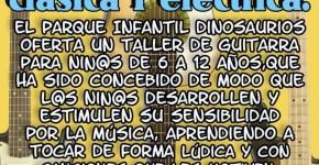 Ukelele + Guitarra en Dinosaurios