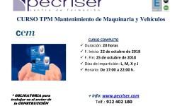 TPM Mantenimiento de maquinaria y vehículos
