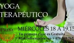 Sesiones de Yoga Terapéutico
