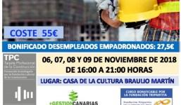 Curso de la TPC 20H Especialidad en Albañilería