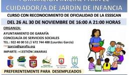 Formación Inicial para el Cuidador/a de Jardín de Infancia