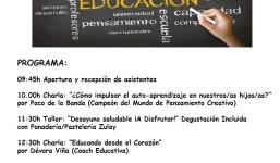 """JORNADAS FAMILIARES """"EDUCACIÓN Y DISFRUTE"""""""