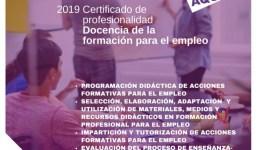 Curso Docencia de la Formación para el empleo