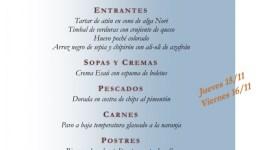 Restaurante Pedagógico 15 y 16 noviembre