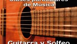 Clases de Guitarra y Solfeo