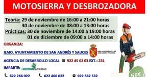 PRL EN EL MANEJO DE MOTOSIERRA Y DESBROZADORA