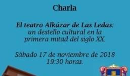 """Historias del antiguo """"Teatro Alkázar"""" de Las Ledas"""