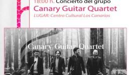 Concierto Canary Guitar Quartet en Fuencaliente