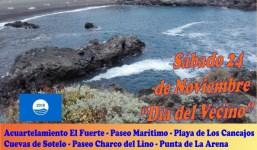 """Ruta Ambiental de la Costa de Breña Baja"""