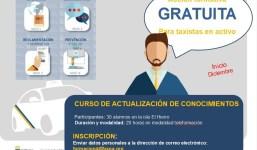 ACTUALIZACIÓN DE CONOCIMIENTOS PARA TAXISTAS MODALIDAD TELEFORMACIÓN