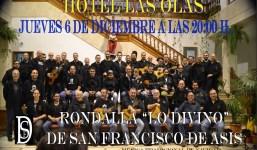 """En """"Las Olas"""" la Rondalla Lo Divino de """"San Francisco de Asís"""""""