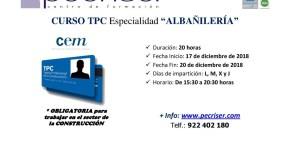 TPC Albañilería 20 horas
