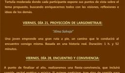 Programa de actividades Grupo Espirita de La Palma