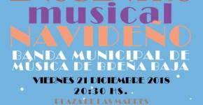 La Banda celebra su encuentro musical navideño