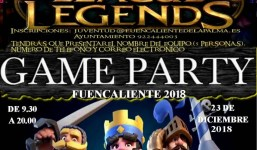 II Game Party Fuencaliente