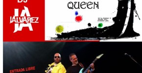 Tributo a Queen por el grupo A Kind of Magic en la Carpa instalada en la Plaza de Montserrat en San Andrés y Sauces