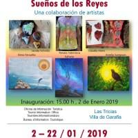 """""""Sueños de los Reyes"""". Sala de exposicones Las Tricias"""