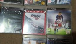 Se venden juegos PS3