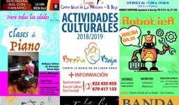 En Enero se reinician las actividades de Promoción Cultural
